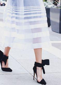 Ankle Bow Stilettos