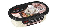 Atria 350g Grillisalaatti Peruna-Pekoni. Peruna-pekonisalaatti, joka parhaimmillaan grilliruuan kaverina mutta toimi myös ruuan lisukkeena.