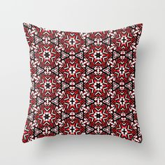 Buy Black, white and red graffiti stars 9055 by Khoncepts as a high quality Throw Pillow. Worldwide shipping available.