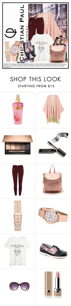 """""""Splendid days to come...."""" by cindy88 ❤ liked on Polyvore featuring Victoria's Secret, Melissa McCarthy Seven7, Bobbi Brown Cosmetics, River Island, WithChic, Marc Jacobs, christianpaul and plus size clothing"""