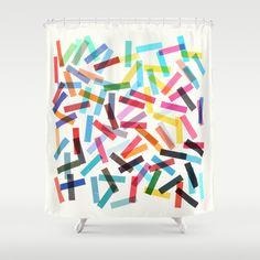 Fiesta+1+Shower+Curtain+by+Garima+Dhawan+-+$68.00