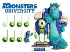 Monsters University quarter and rest
