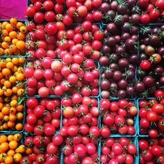 """""""@beckifer13 is checking out the goods at the @portlandfarmers market. What did you stock up on this weekend?"""""""