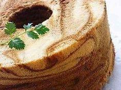 コーヒーマーブルシフォンケーキの画像