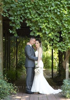 Art & Photography by Linda Tobitt. Botanic Gardens, Summer wedding.