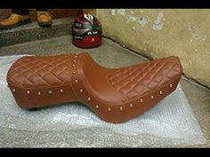 Motorcycle Seats, Bike Seat, Car Seats, Leather Car Seat Covers, Car Console, Leather Tooling Patterns, Bmw Cafe Racer, Bike Frame, Custom Bikes