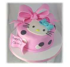 Hello Kitty Birthday Cake Picture