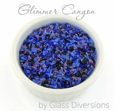 Glimmer Canyon Frit Blend