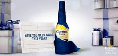 Have you been naughty or nice? Let us know in the comments ;). #corona #coronaextra #theplacetobe