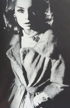 Jean Shrimpton in Vogue UKOctober 1962byBailey