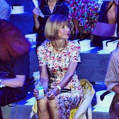 Front row at Marc Jacobs Spring-Summer 2014 Fashion Show #NYFW #RTW #SS14 #MarcJacobs #LVMH via guestofaguest
