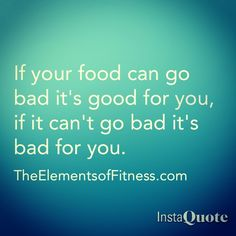 Next time you're thinking about eating at McFatness remember this...