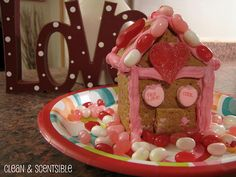 love shacks - valentine's day gingerbread houses