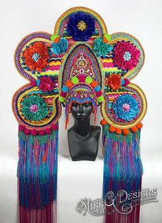 Rainbow Crown Headdr