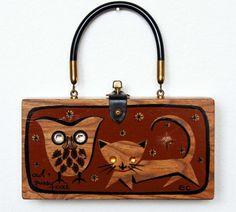 Aw, cute purse! Etsy listing at https://www.etsy.com/listing/161895956/enid-collins-of-texas-petite-owl