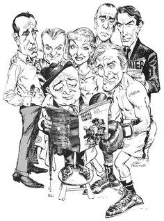 mort drucker caricatures