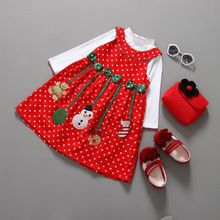 New Year Children Winter Christmas Costumes Baby Clothes Sets Kids Suit Baby Girls Coat+Dress Baby Boys Coat+Pants New 2PCS(China (Mainland))