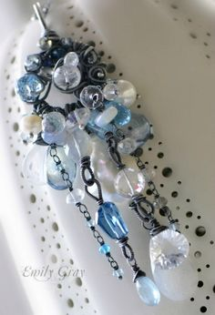oOo The MIDWINTER EVE Necklace oOo Divine & by EmilyGrayJewels, $675.00