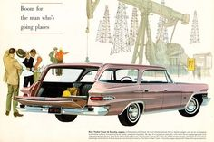 1962 Chrysler New Yorker Town & Country station wagon