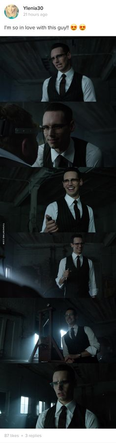 Everytime Ed is torturing or killing someone,I'm the happiest person in the world.I mean...He's so fucking adorable when Herr has that insane smile on history face :33