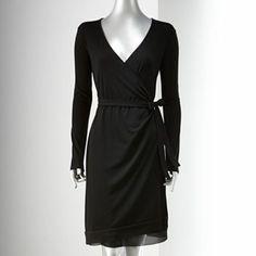 Simply Vera Vera Wang Wrap Dress
