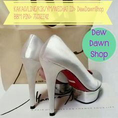 #Shoes Made By Order! Size: 34-42 (Local Standard) #Heels: - 3/7/9 cm [Pointed Shoes] - 3/7/10/13/15 cm [Others] Material: Glossy/Doff/Suede/Satin/Mirror/Soft Glitter/Big Glitter/Animal Print/Flower/Houndstooth/Lace/Stripes/Polkadots/Mix Additional Strap: Ankle Strap/T-Strap/Mary Jane-Strap/Cross Strap Additional Accessories: Cap/Kitty Bow/Candy Bow/Knott/Studs (Bow Position: Point/Side/Back/on the Strap) ~KAKAO/LINE/KIK/YM/WECHAT ID>DewDawnShop ~BBM PIN>75C5EE42 -I N D O N E S I A   O N L…
