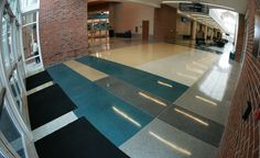 Project Name: Coastal Carolina University General Contractor: PC Construction of Greenwood Architects: Garvin Design Group Read more about this project on http://www.doyledickersonterrazzo.com/portfolio/universities/coastal-carolina-university/  #terrazzo #flooring #design #contractor #epoxy #terrazzocontractor #university #school #education #LEED #commercialflooring #floordesign
