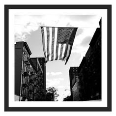 Check out this item at One Kings Lane! Graham Kuhn, East Village Flag