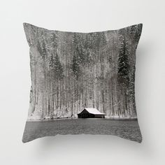 Boat House Pillow Cover by BacktoBasicsPillows