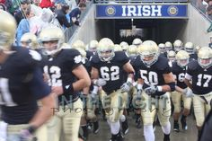 Here come the IRISH!