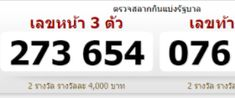 Thai Lottery Tips April 16 2018 Thailand Lottery Result VIP Magic 1st 2nd Paper Number