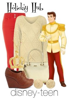 """""""Prince Charming"""" by disney-teen ❤ liked on Polyvore featuring Salsa, DKNY, Charlotte Russe, Carolina Bucci and Journee Collection"""