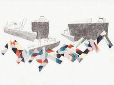 Boat Illustration by Klara Lindahl