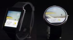 Google wrist wear