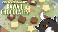 Pengulin shares some tips on how to use chocolate molds that allow your chocolates to be smooth and free of air-pockets!  Great for gifts or party bags!
