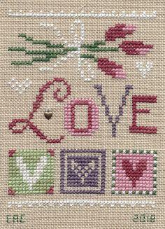 Tiny Cross Stitch, Xmas Cross Stitch, Cross Stitch Letters, Cross Stitch Kitchen, Cross Stitch Needles, Cross Stitch Heart, Cross Stitch Cards, Cross Stitch Samplers, Cross Stitch Kits