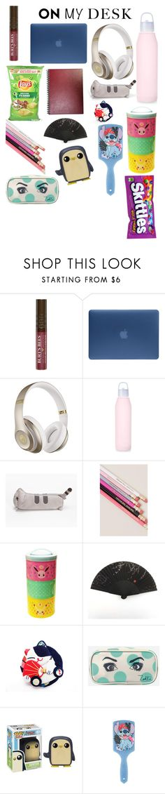 """👌🏼😂"" by msunicornanna ❤ liked on Polyvore featuring interior, interiors, interior design, home, home decor, interior decorating, Burt's Bees, Incase, Beats by Dr. Dre and Pusheen"