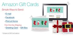 Amazon Gift Card -- good for all sorts of things