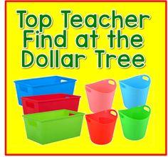 Top Teacher Finds at the Dollar Tree (from Time 4 Kindergarten) Dollar Tree Organization, Classroom Organization, Classroom Management, Classroom Ideas, Organization Ideas, Organizing, Classroom Routines, Teacher Supplies, Teacher Hacks