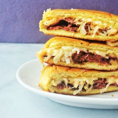 Reuben Grilled Cheese #appetizer #recipes