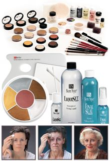 MAKEUP Ben Nye theatrical makeup supplies.