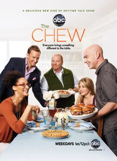 The Chew.at least my sick ass gets to watch my show. Chef Shows, The Chew Recipes, Abc Shows, Tv Land, Losing A Child, Me Tv, Favorite Tv Shows, Favorite Things, Movies And Tv Shows