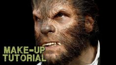 Werewolf Transformation Makeup - How to Apply Wolfman Prosthetics! (+pla...