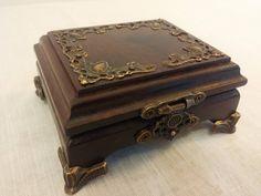 Wooden Jewelry Box Ring box Wedding ring box