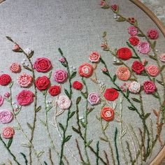 #Embroidery#stutch#needlework #프랑스자수#일산프랑스자수#자수 #가자!~장미정원으로~
