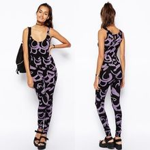 OEM bulk wholesale fashion purple bodycon jumpsuits for women 2014 Best Buy follow this link http://shopingayo.space
