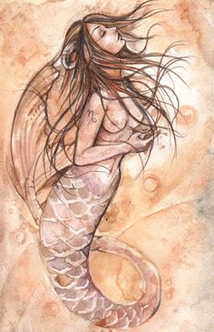 Capricorn Mermaid by mortimersparrow.deviantart.com on @deviantART