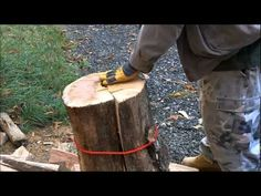 Firewood processing without messing around