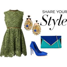 A fashion look from March 2015 featuring lace mini dress, heel pump and handbags clutches. Browse and shop related looks. Pumps Heels, Your Style, Glow, Fashion Looks, Formal Dresses, Lace, Earrings, Shopping, Dresses For Formal