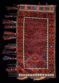 Culture Baluchi people Creation date early 20th century Collection Textiles Materials wool
